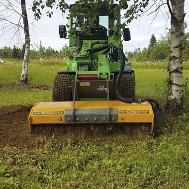 g mc4 mericrusher hydraulic mulcher land clearing